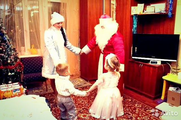 Дед мороз и снегурочка у ребенка дома сценарий