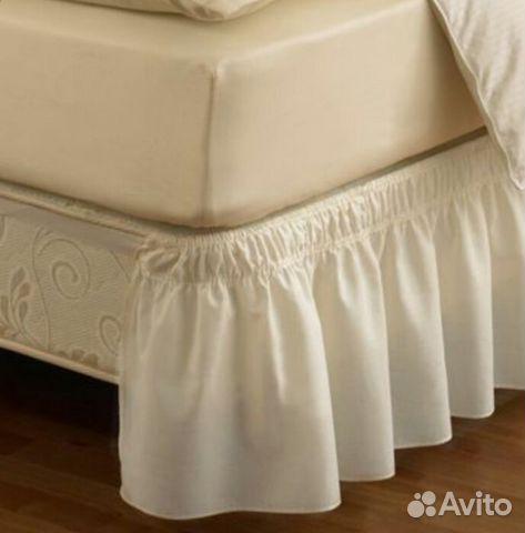 Юбка для кроватки своими руками