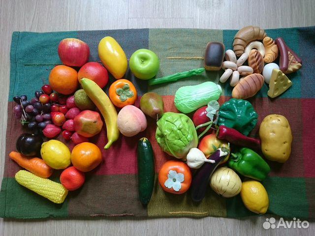 Муляжи продуктов  в детском саду 121