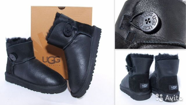 UGG Metallic обливные, купить обливные угги, женские