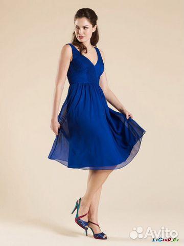 Платье вечерние средней длины