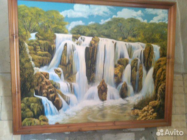 Картина Водопад 89178162728 купить 1