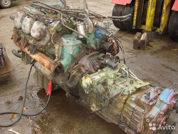 Двигатель камаз на мерседес