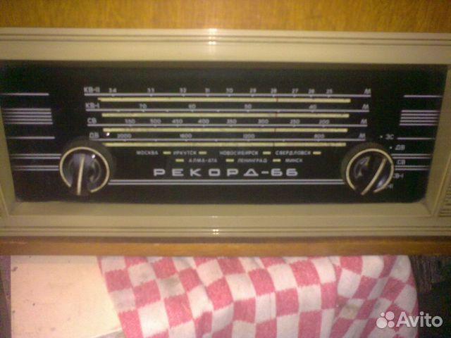 """Радиола  """"Рекорд-66 """" и Радиола  """"Рекорд-68-2 """" ."""