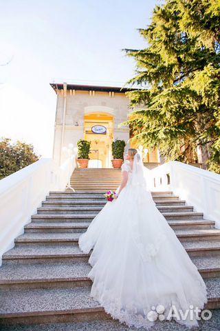 Объявление о продаже Свадебное платье в Краснодарском крае на Avito.  Продам свадебное платье в отличном состоянии.