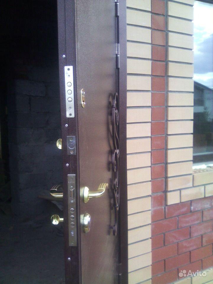 Уличные морозостойкие металлические двери арктика