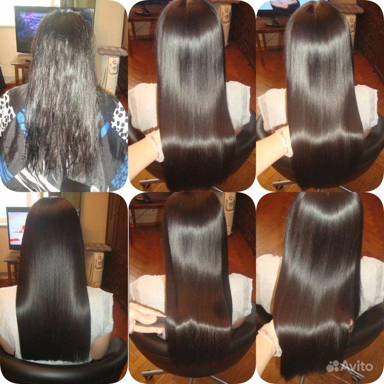 Наращивание волос купить на Вуёк.ру - фотография № 7