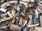 Колотые дрова берёзы