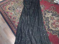 Продаю новое шикарное черное вечернее платье