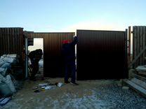 Изготовление и установка распашных ворот — Предложение услуг в Санкт-Петербурге