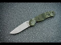 Spyderco civillian, military, Ontario Rat-1