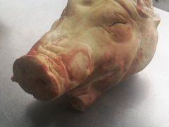 Голова свиная