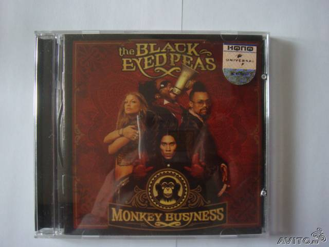 The Black Eyed Peas Monkey Business лицензия