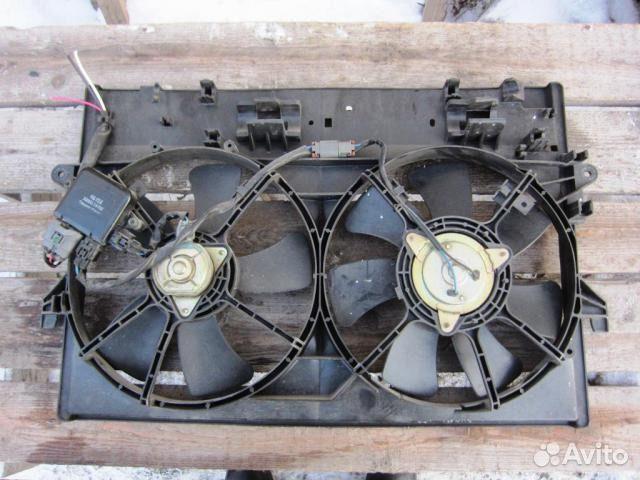 mazda mpv lw вентилятор радиатора