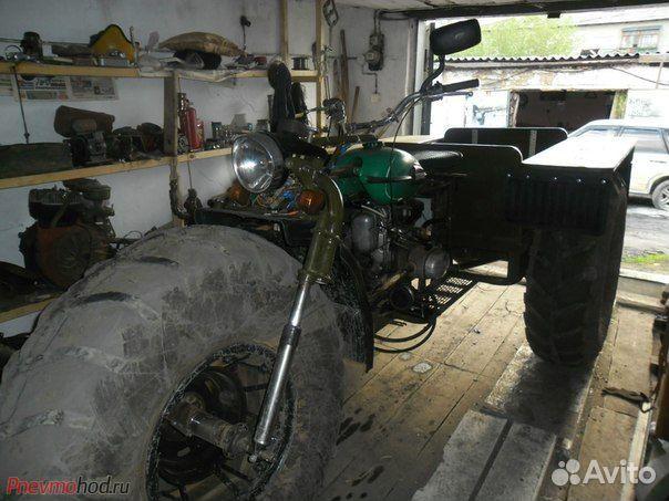 Урал трицикл - 7bed