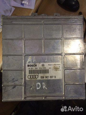 Блок управления двигателем Ауди 8D0907557B— фотография №1