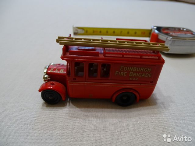 Edinburg fire brigade от lledo— фотография №1