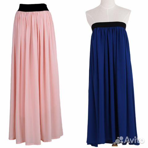Новые юбки в пол