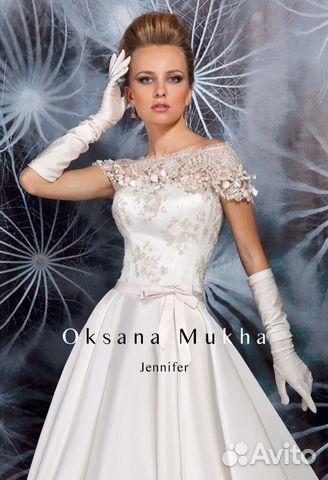 66b0b7b4c35333b Свадебное платье дизайнер Оксана Муха (Дженифер) | Festima.Ru ...