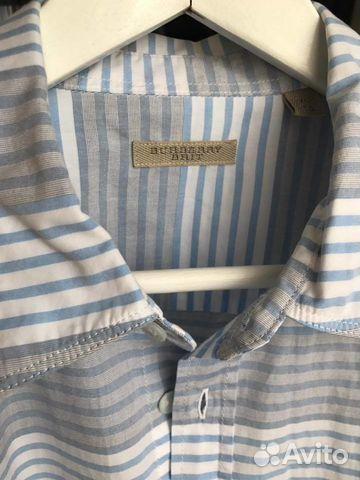 Рубашка Burberry Brit, мужская, оригинал, 52р купить в Москве на ... 0515eda71aa