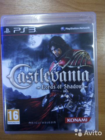 Castlevania Lordsof Shadow PS3— фотография №1