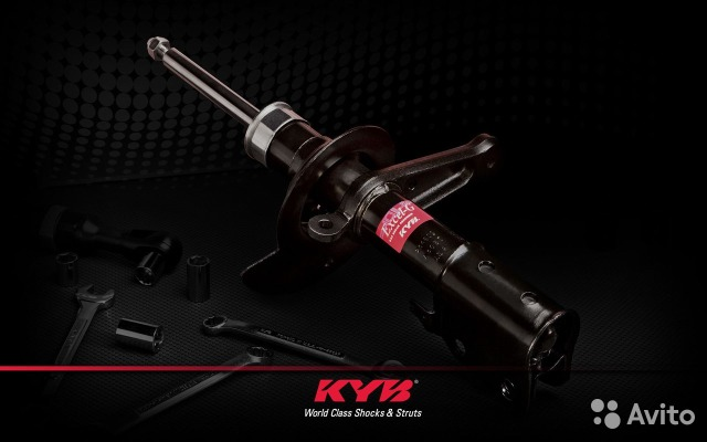 The KYB shock absorbers Kayaba for all cars