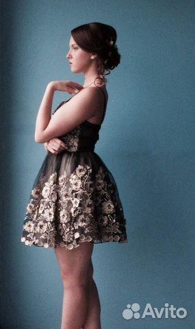 98f4e8b7efc Вечернее   выпускное платье с открытыми плечами
