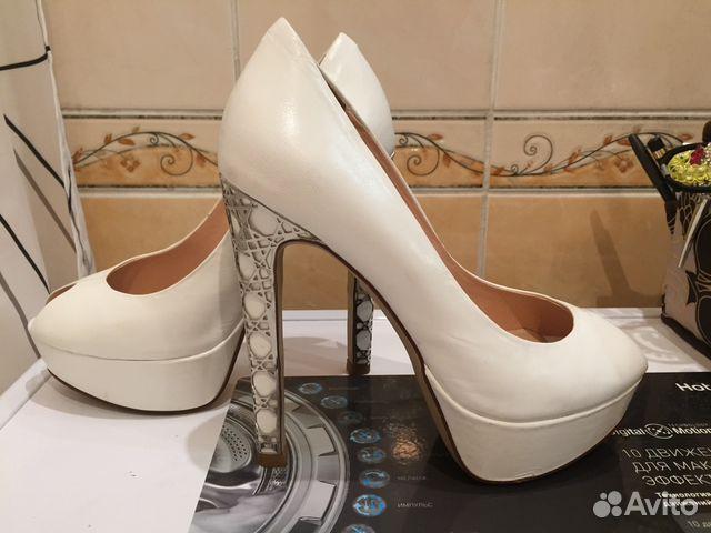 Туфли босоножки белые Mascotte купить в Санкт-Петербурге на Avito ... 1026fdef41b
