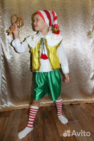 Новогодний костюм Буратино прокат купить в Республике Татарстан на ... 8c61e17b22f27