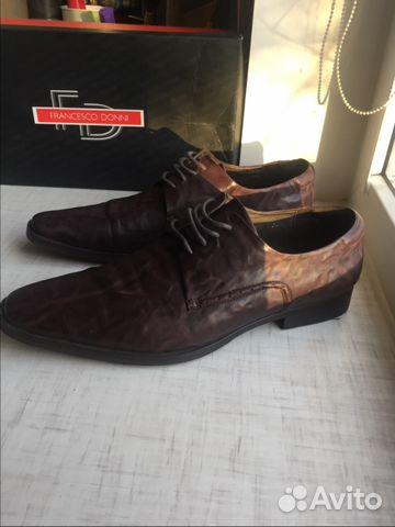 a2a3e3cd0 Кожаные туфли, 40, Франческо Дони   Festima.Ru - Мониторинг объявлений