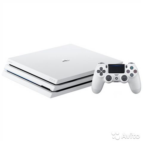 Sony PlayStation 4 Pro 1TB White новая с Магазина