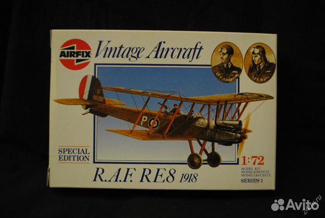 Модель самолета raf re 8 1/72 89632647944 купить 1