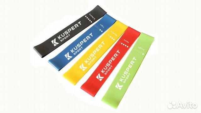 Резинки для фитнеса 5 шт. купить в Чебоксарах