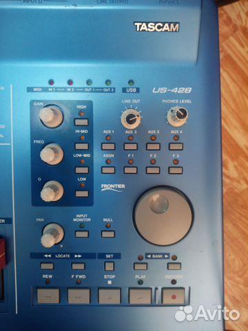 Tascam US-428 звуковая карта, миди-контроллер 89139767854 купить 3