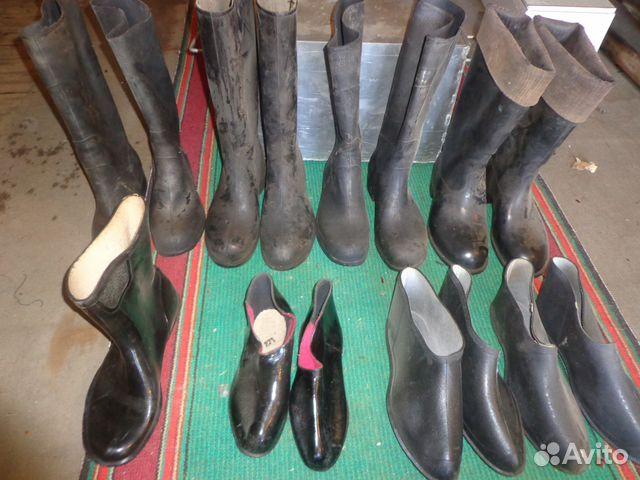 f874d075965 Резиновая обувь 10 видов Пушкин купить в Санкт-Петербурге на Avito ...