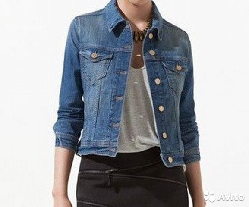 2d11d0aa Джинсовые куртки Zara, новые (XS) | Festima.Ru - Мониторинг объявлений