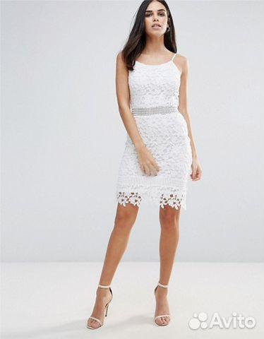 7315c14036b Кружевное белое платье (новое)