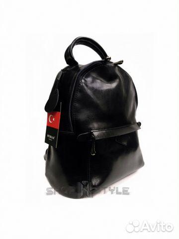 fae80149a16f Рюкзак кожаный чёрный купить в Санкт-Петербурге на Avito ...