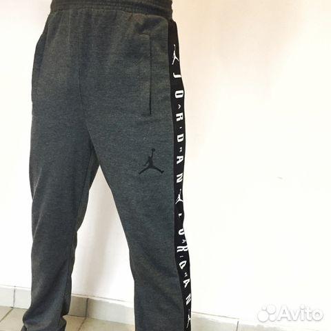 aeffa41e Спортивные штаны Jordan (nike) (серые)   Festima.Ru - Мониторинг ...
