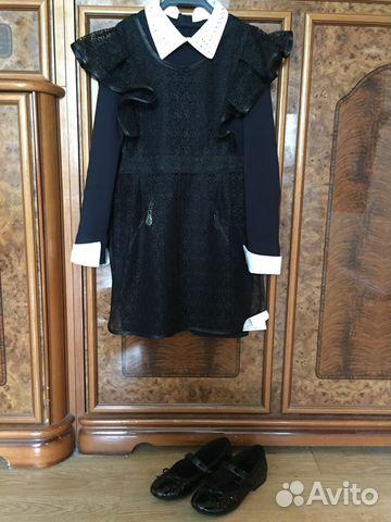 338feaf9107 Платье для школы Gulliver фартук новый