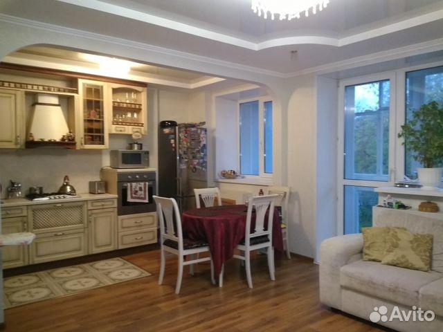Продается четырехкомнатная квартира за 4 180 000 рублей. Киров, улица Воровского, 89А.