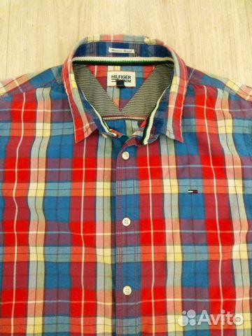 fb7ccc689fb Оригинальная рубашка Tommy Hilfiger Denim size L купить в Республике ...
