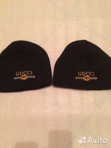 Шапки Gucci в полной оригинальной упаковке мех нат   Festima.Ru ... 05aab48acee