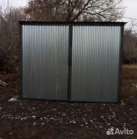 Гараж металлический под ключ гараж железобетонный купить без места