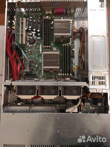Сервер Supermicro 2U с raid-контроллером (б/у)