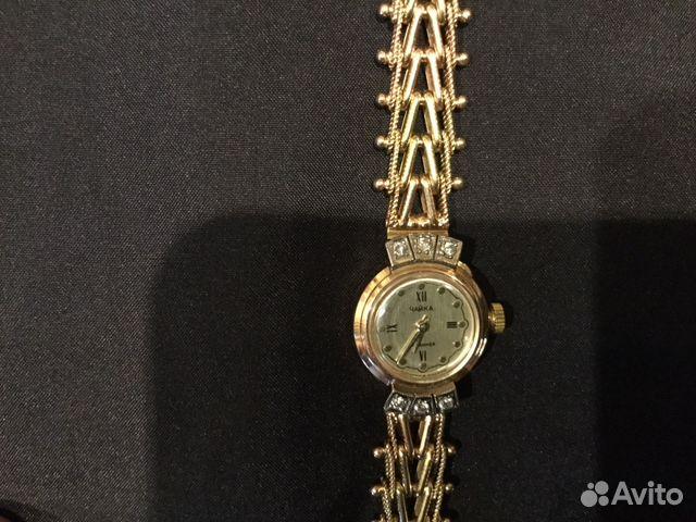 d271a192 Женские золотые часы чайка с браслетом и бриллиант | Festima.Ru ...
