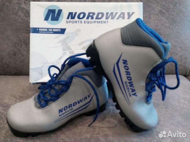 Детские лыжные ботинки купить в Белгородской области на Avito ... f2bdfc69773