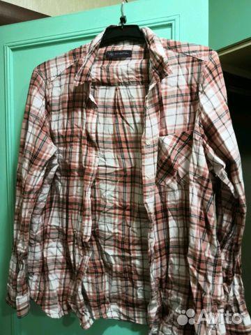 51300679616 Рубашка клетка нm