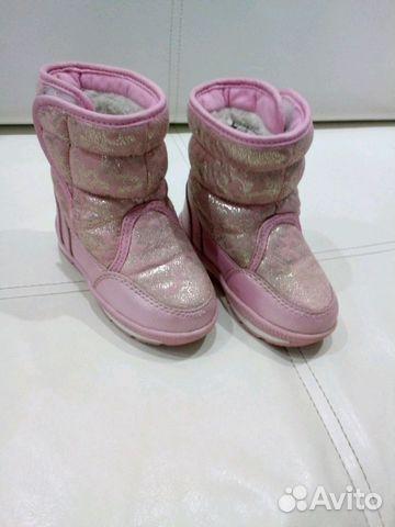 Продам зимние сапожки на девочку р.22 89273827666 купить 1