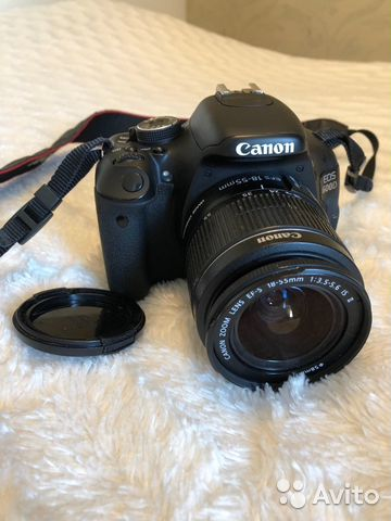 Зеркальный фотоаппарат Canon EOS 600D Double Z00M | Festima